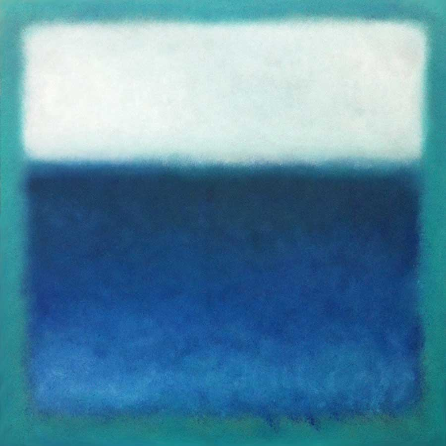 blue-white-color-field