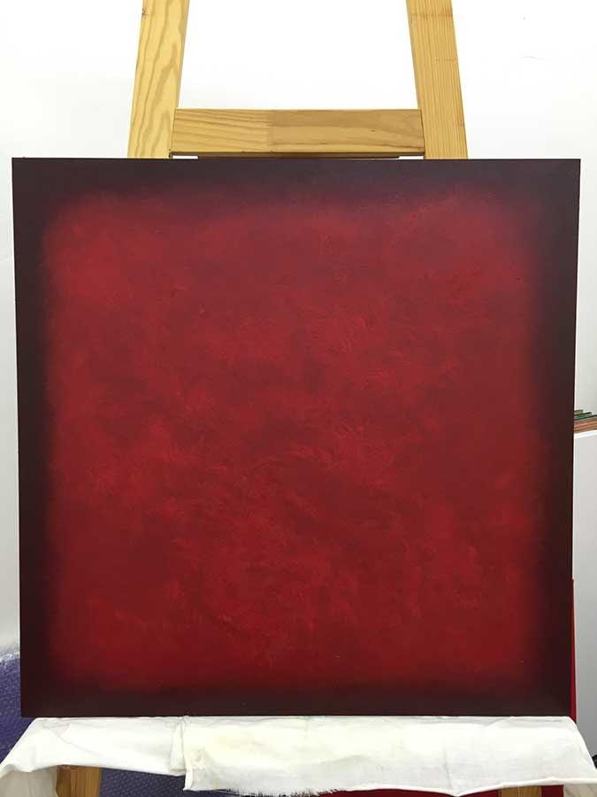 Stanko | oil on wood | 2012 -2019 | 100 x 100 cm