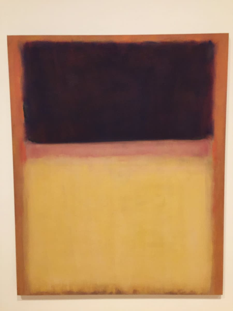 Mark Rothko with viewer