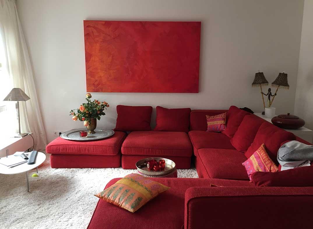living room in munich