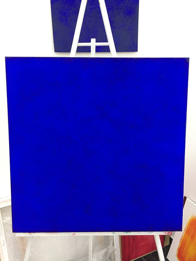 ultramarin blue | 2019 | 80x80 cm