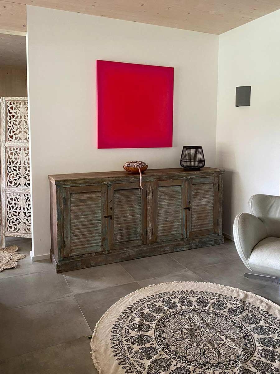 livingroom | 2020 | red on red