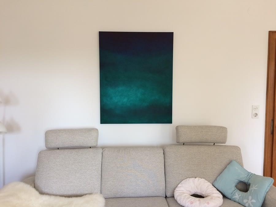 Michaela L. living room