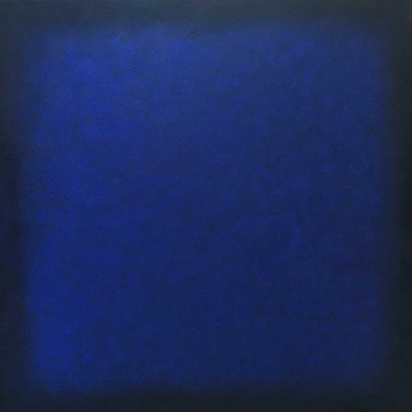 blue on dark blue