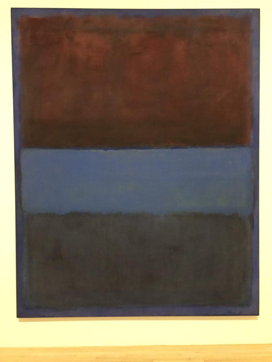 Mark Rothko in MOCA