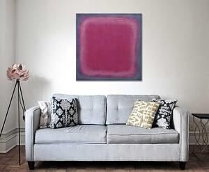 photo by -naomi-hebert - magenta-skin-living room