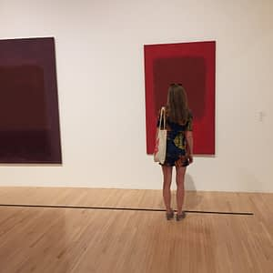 rothko room at MOCA museum